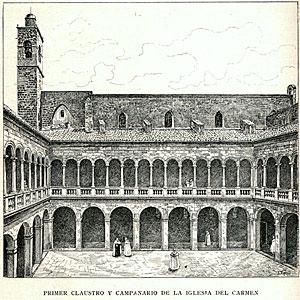claustro siglo xvi i sxvii