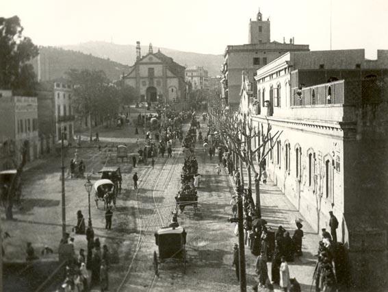 colles de sant medir 1910