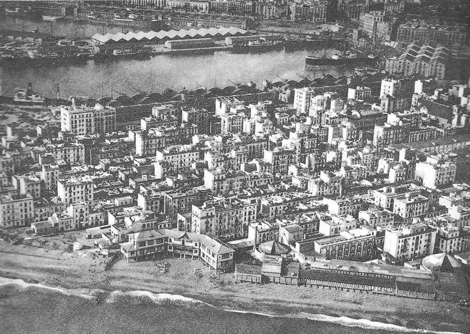 Barceloneta i Escola Mar 1929