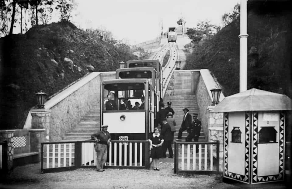 Funicular Montjuich construit expo 1929