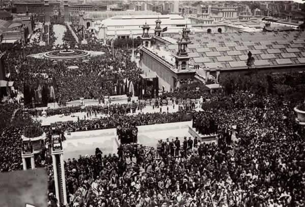 Inaguracion Expo 1929