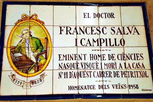 placa doctor salva campillo