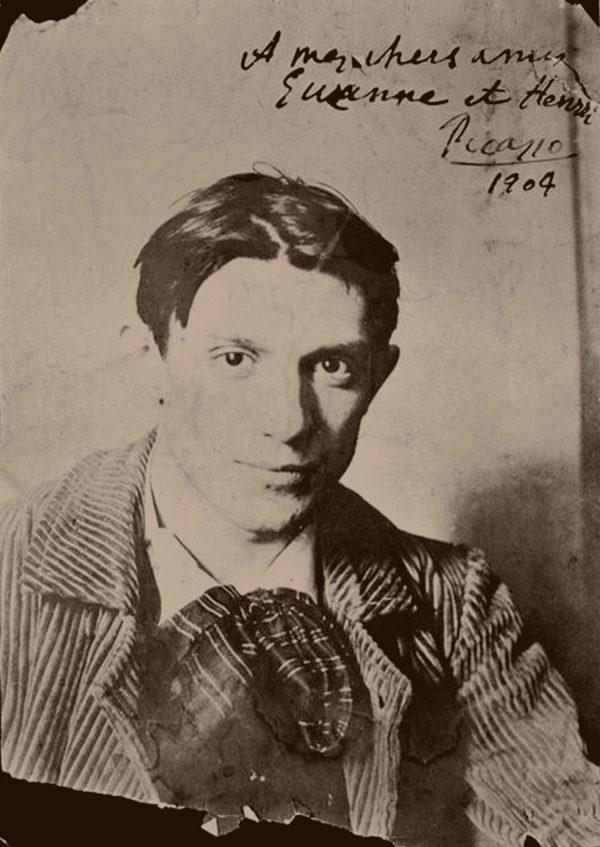 El pintor a los 23 años, en una foto de la colección del Museo Picasso de París.